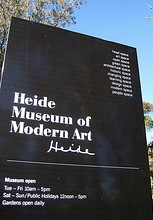[Adapted from Rory Hyde 2008, 'Heide MOMA Sign', CC Licence CC BY-SA 2.0 (http://creativecommons.org/licenses/by-sa/2.0/deed.en), Image Source: flickr (http://www.flickr.com/photos/roryrory/2698498532/)]