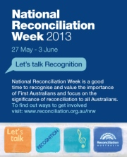 National Reconciliation Week banner [Image courtesy Reconciliation Australia]