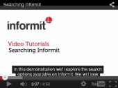 Informit tutorial - searching