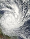 [NASA, 'Cyclone Yasi 2 February 2011 approaching Queensland', public domain, Image Source: Wikimedia Commons http://commons.wikimedia.org/wiki/File:Cyclone_Yasi_2_February_2011_approaching_Queensland.jpg]