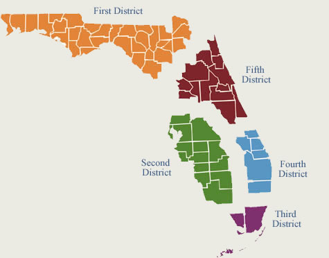 Florida District Courts of Appeal