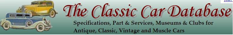 Classic Car Database logo