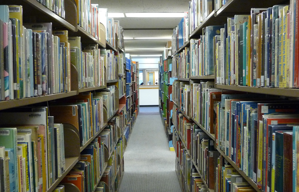 Children's Literature Stacks at UD Library