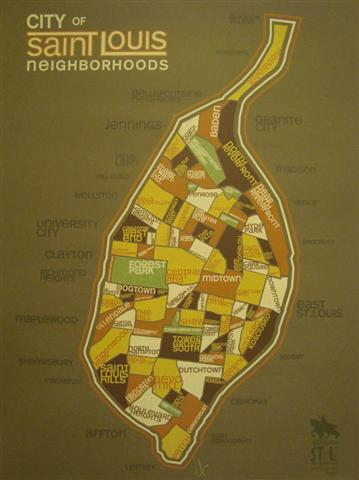 St. Louis Neighborhoods Map