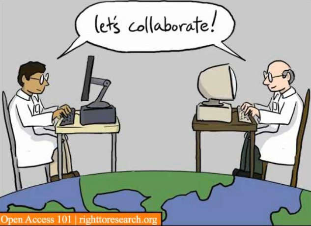 Let's Collaborate from Open Access 101