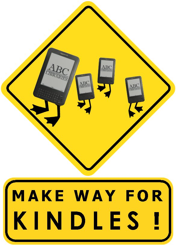 Make Way for Kindles!