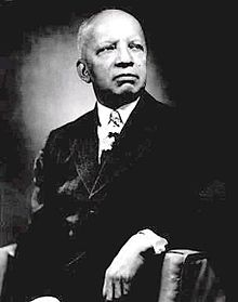 Photograph of the African American historian, Carter G. Woodson