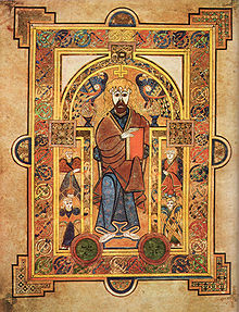 The cover of the Book of Kells