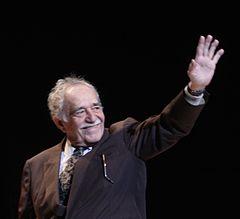 Photograph of Gabriel Garcia Márquez.