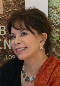 Photograph of Isabel Allende.