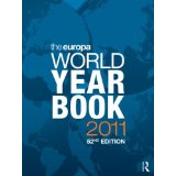 Cover of the Europa World Year Book for 2011.