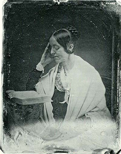 Author and women's rigths advocate, Margaret Fuller in 1846