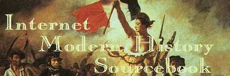 Logo and link for the Internet Modern History Sourcebook web site