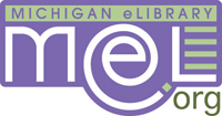 Logo of and link to MeL, the Michigan Electronic Library