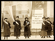 Link to photographs from the National Women's Party at the Library of Congress