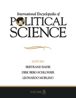 Cover of the book International Encyclopedia of Political Science