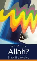 """Cover of """"Who is Allah?"""""""