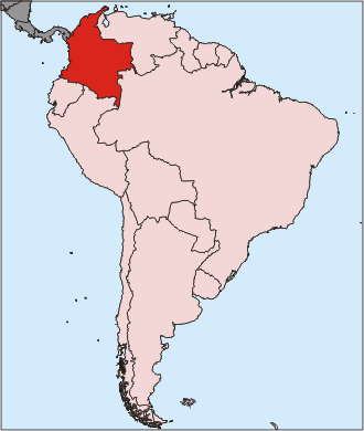 Columbia in South America