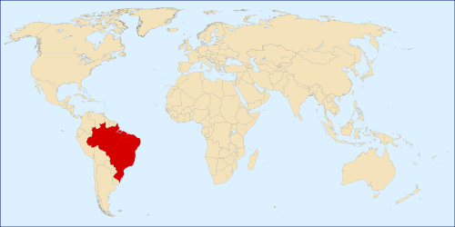 Global Map of Brazil