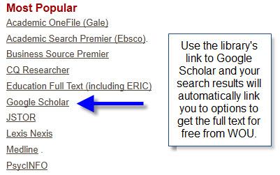 Google Scholar link
