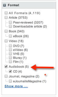 Format checkboxes
