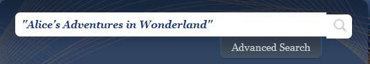 """Alice in Wonderland"" example"