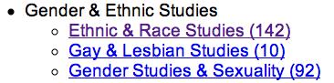142 Ethnic and Race Studies Periodicals: