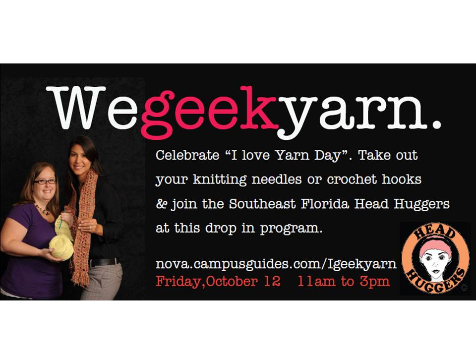 We geek yarn