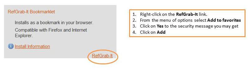 Adding Bookmarklet