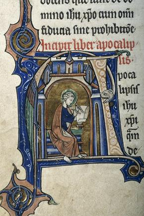 St. John, Apocalipsis, Sweetheart Abbey Bible