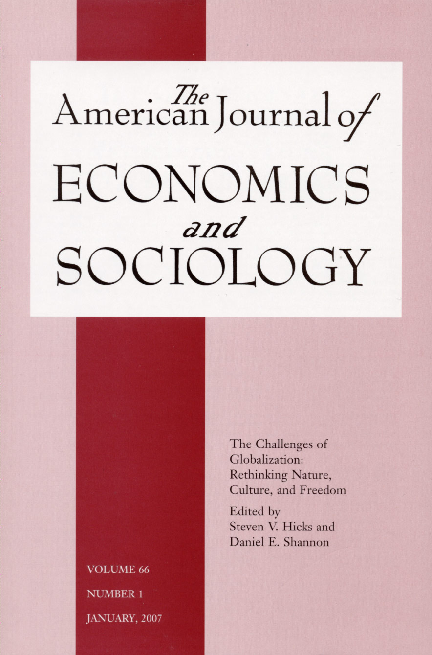 Journal of Sociology and Economics