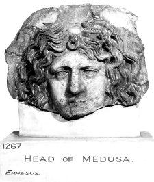 Head of Medusa, item 1868,0620.567 British Museum www.britishmuseum.org