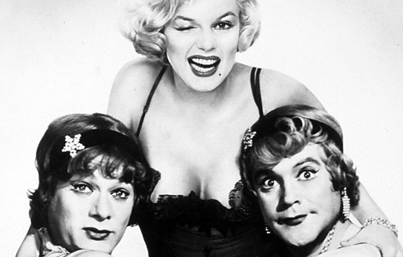 """Actors in the movie """"Some Like It Hot"""""""