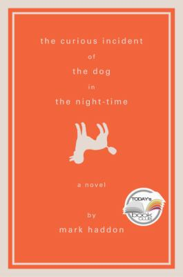 book jacket for Curious Incident  of the dog in the night-time