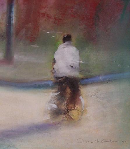 Bicyclist by Dana H. Carlson
