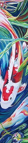Koi Suite II by Carole Mehrtens