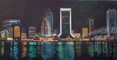 Jacksonville Skyline by Craig Gedeist