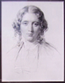 Portrait of Harriet Beecher Stowe      Francis Holl after George Richmond
