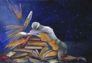 The Flight of Wisdom by Susanne Schuenke