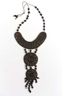Hanging Medallion Necklace by Charles M. Brown
