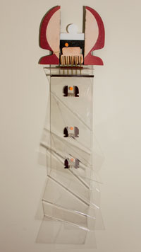 Vogel sculpture by Ken McMillan