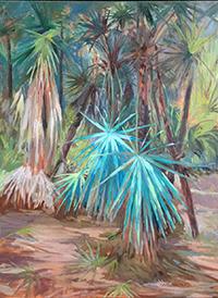 Palmetto Scrub by Kathleen Wobie