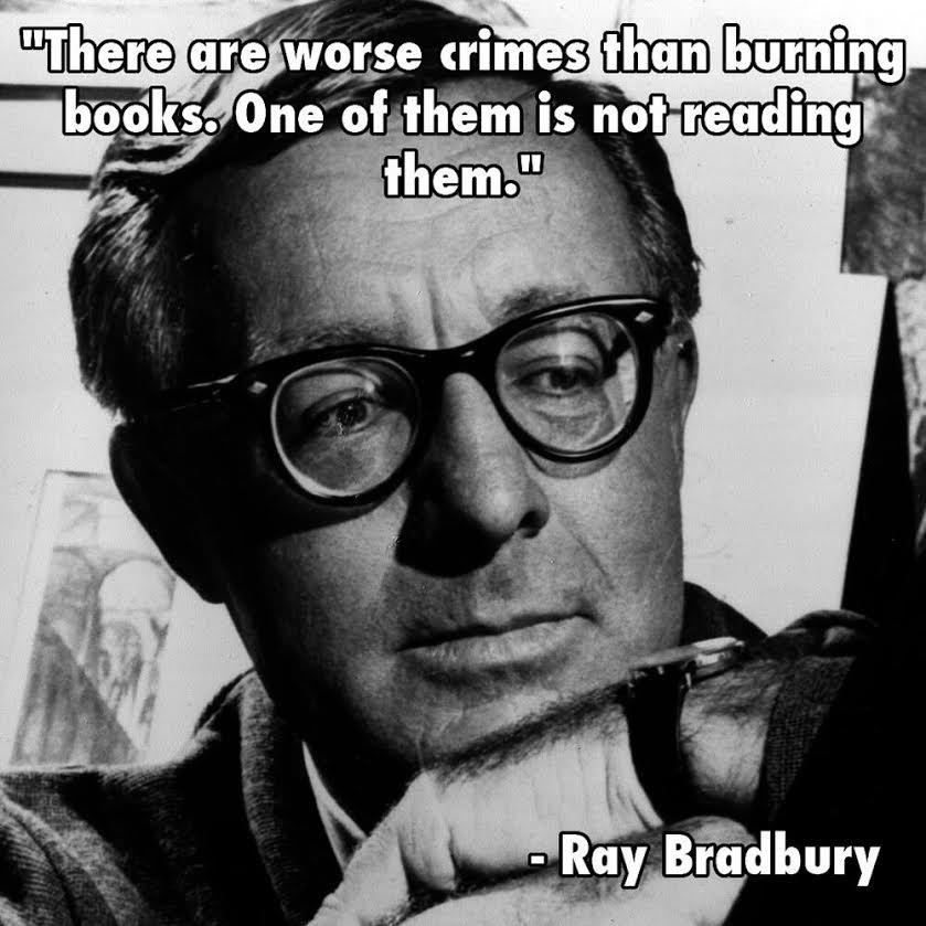 Bradbury Book Quote