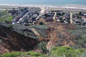 La Conchita Coastal Slide