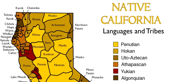 Native California Languages and Tribes