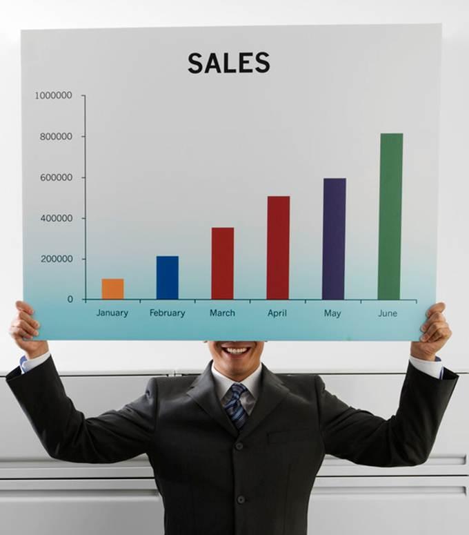 sales bar chart