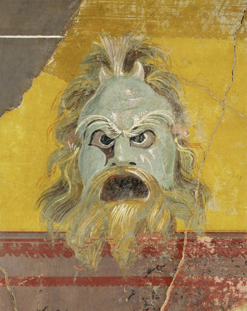 Theatrical Mask Pompeii