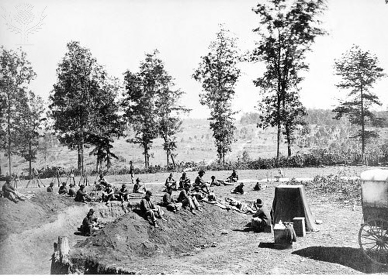 Civil War Soldiers' Camp