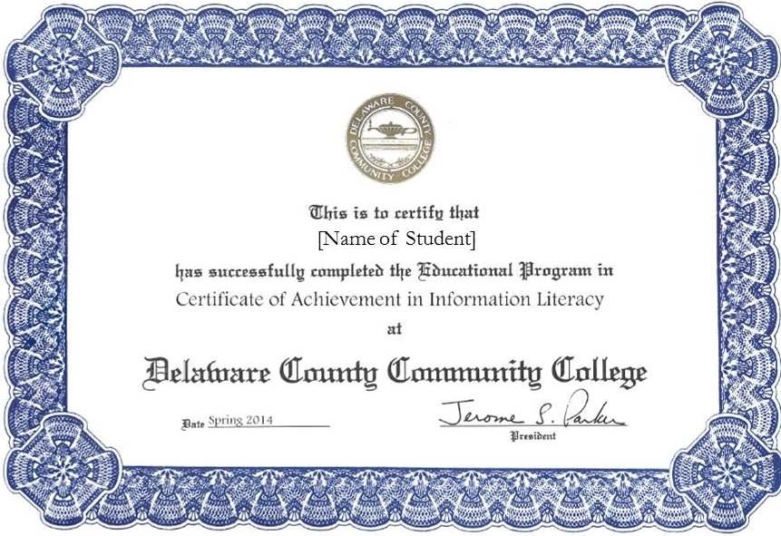 IL Certificate