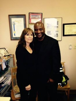 Picture of Andra Hoffman and Troy Davis